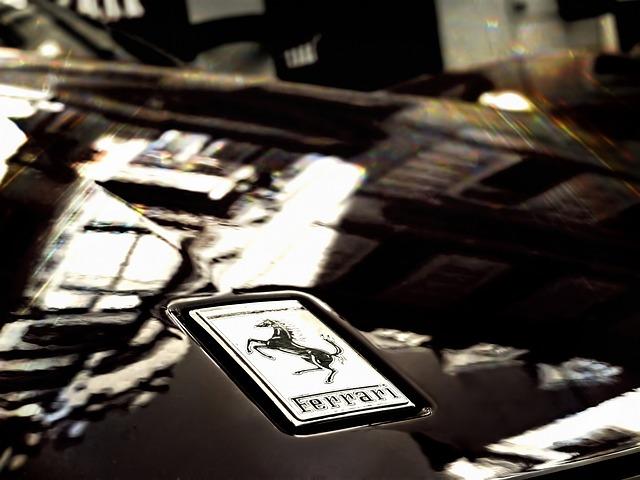 Image of Ferrari Badge